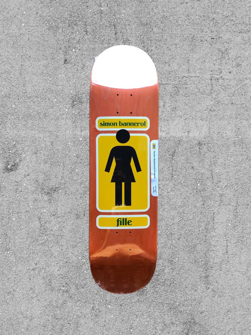 GIRL SKATEBOARDS GIRL BANNEROT 93' TIL 8.5 DECK