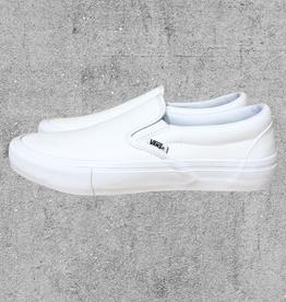 VANS VANS SLIP ON PRO - WHITE/WHITE