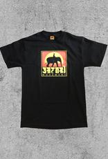 SATORI WHEELS SATORI ELEPHANT TEE - BLACK