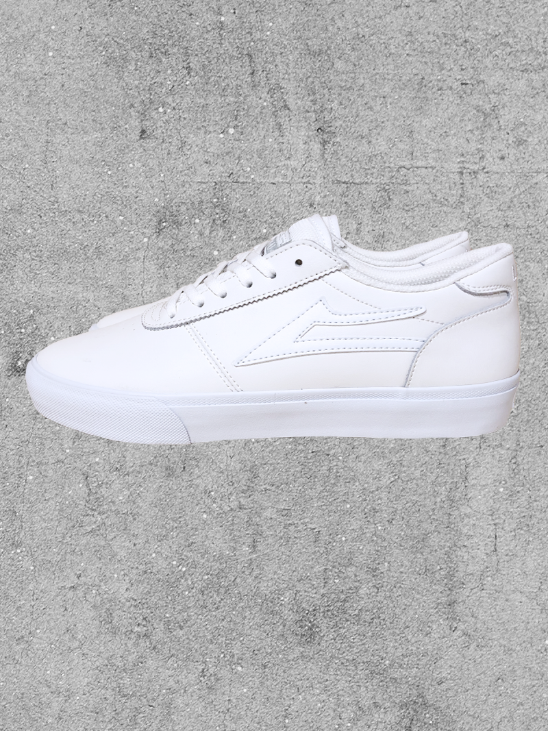 LAKAI FOOTWEAR LAKAI MANCHESTER - WHITE LEATHER