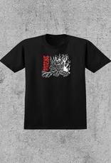 SPITFIRE SPITFIRE X LOTTIES FIEND TEE - BLACK/RED