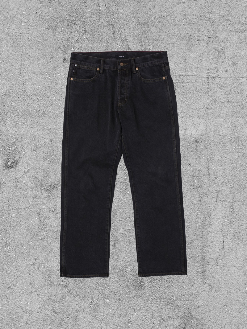 RVCA RVCA NEW DAWN DENIM PANT - VINTAGE BLACK