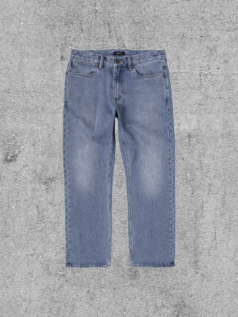 RVCA RVCA NEW DAWN DENIM PANT - VINTAGE INDIGO