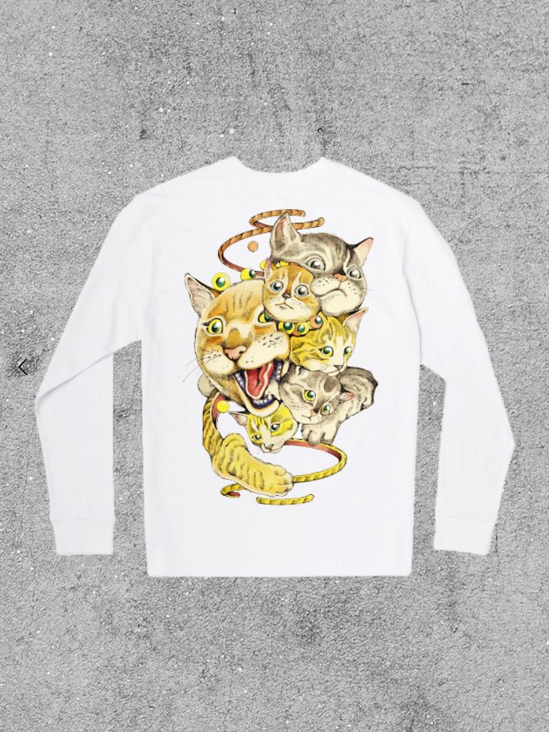 RVCA RVCA  SHINTARO CATS L/S