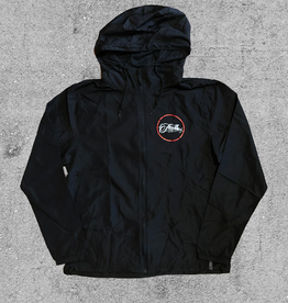 FAMILIA SKATESHOP FAMILIA OUTLINE WINDBREAKER - BLACK