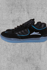 LAKAI FOOTWEAR LAKAI CARROLL - BLACK/BLUE SUEDE