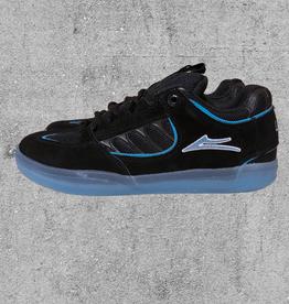 LAKAI FOOTWEAR LAKAI CARROLL - BLACK/BLUE SUEDE