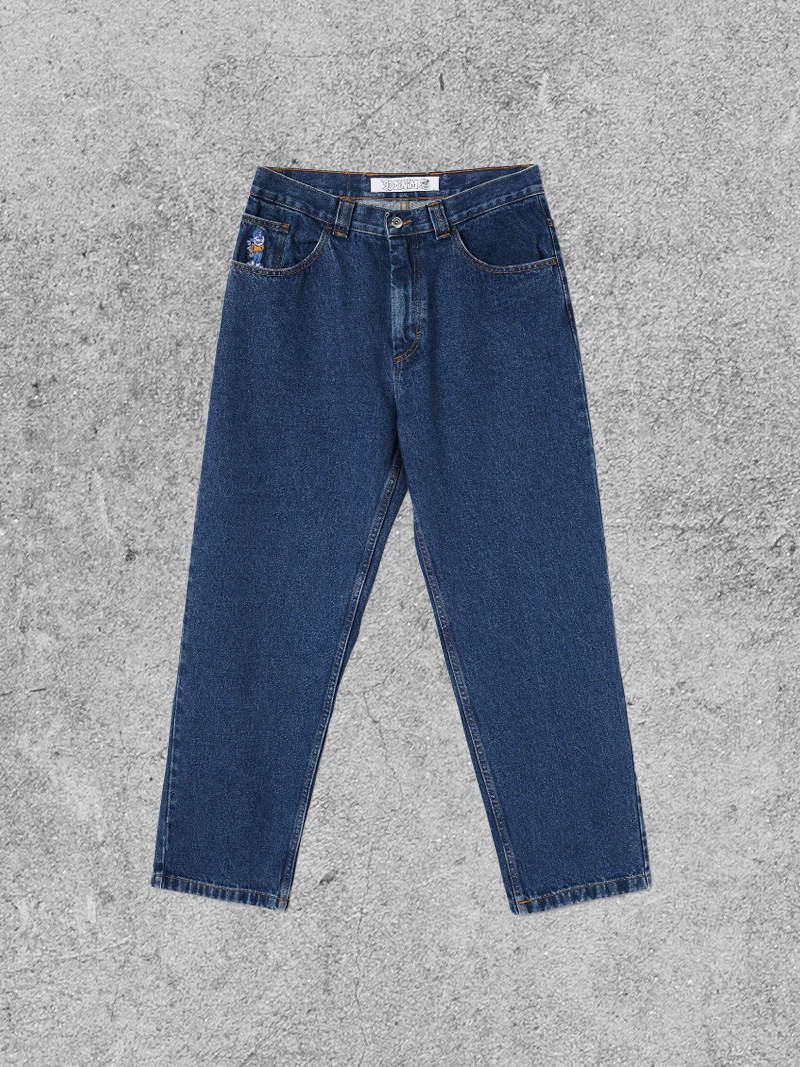 POLAR SKATE CO POLAR 93 DENIM PANT - DARK BLUE