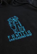 FAMILIA SKATESHOP FAMILIA GONZ SKETCHY HOODIE - BLACK