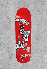 "POLAR SKATE CO POLAR BOSERIO CASH IS QUEEN 1991 9.25"" DECK"