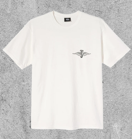 STUSSY STUSSY SKULL WINGS TEE - NATURAL