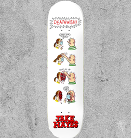 "BAKER BOYS DISTRIBUTION DEATHWISH HAYES QUARANTINE 8"" DECK"