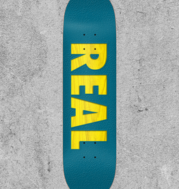 "REAL SKATEBOARDS REAL BOLD TEAM SERIES 8.25"" DECK"