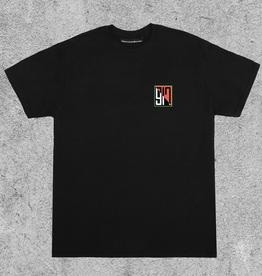 917 917 SPLIT TEE - BLACK