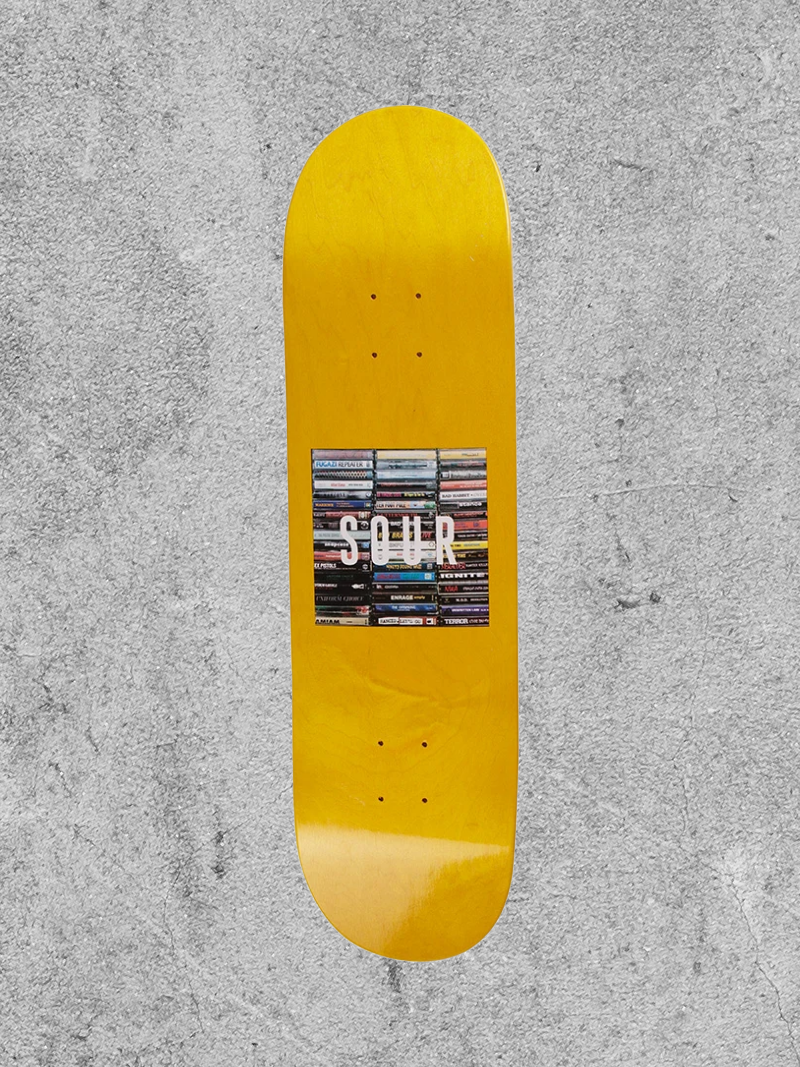 "SOUR SOLUTION SOUR BOX LOGO TAPES 8.5"" DECK"