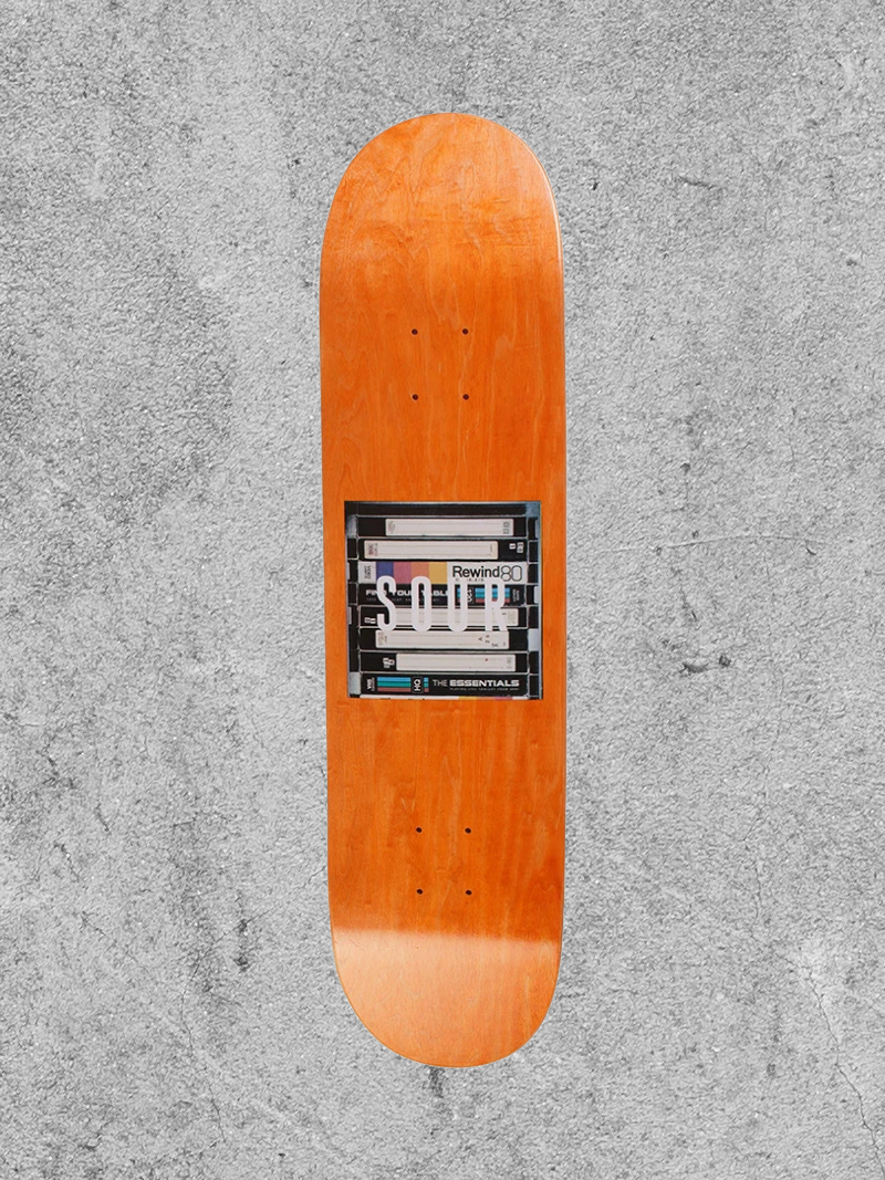 "SOUR SOLUTION SOUR BOX LOGO VHS 8"" DECK"