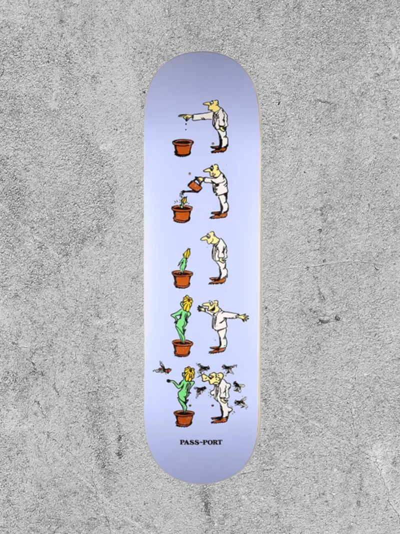 "PASSPORT SKATEBOARDS PASSPORT WCWBF GROW 8"" DECK"