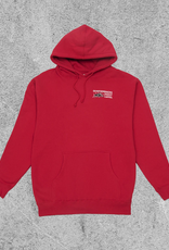 QUARTER SNACKS QUARTER SNACKS PEST CONTROL HOODIE - RED