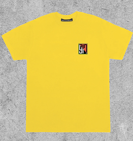 917 917 SPLIT TEE - YELLOW