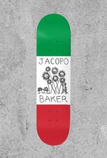 """BAKER SKATEBOARDS BAKER JACOPO CENTRALE 8"""" DECK"""