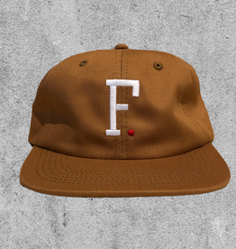 FAMILIA SKATESHOP FAMILIA F. 6 PANEL HAT - BROWN