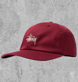 STUSSY STUSSY STOCK LOW PRO CAP - BERRY