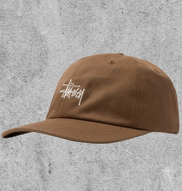 STUSSY STUSSY STOCK LOW PRO CAP - LIGHT BROWN