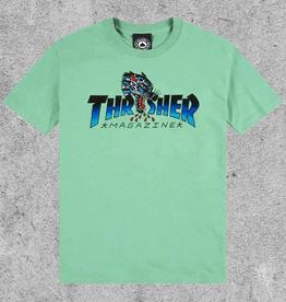 THRASHER MAGAZINE THRASHER LEOPARD MAG TEE
