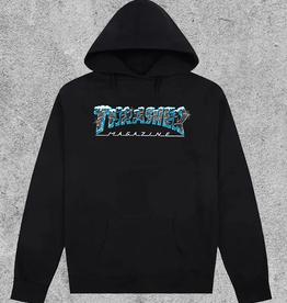 THRASHER MAGAZINE THRASHER BLACK ICE HOODIE