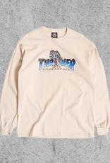 THRASHER MAGAZINE THRASHER LEOPARD MAG L/S