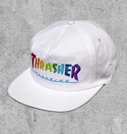 THRASHER MAGAZINE THRASHER RAINBOW MAG SNAPBACK
