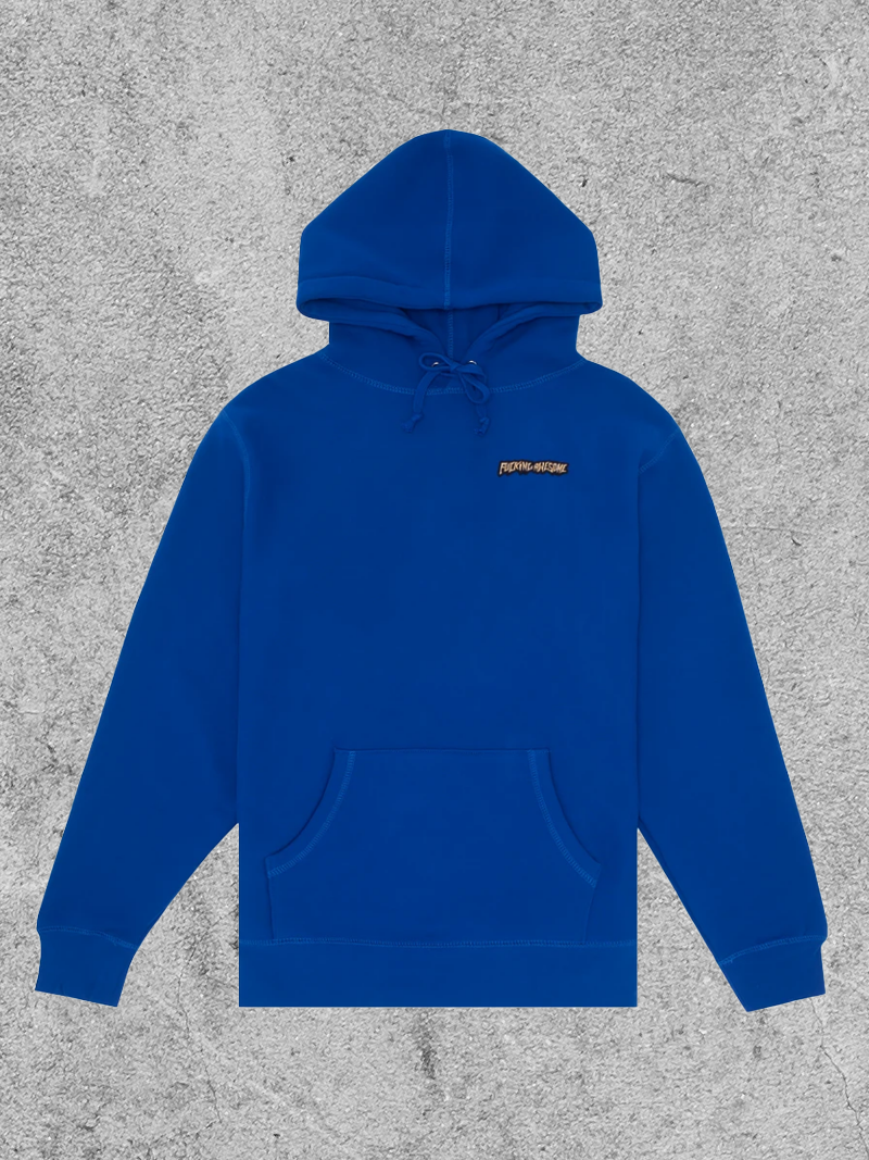 FA ENTERTAINMENT FUCKING AWESOME LITTLE STAMP HOODIE - ROYAL