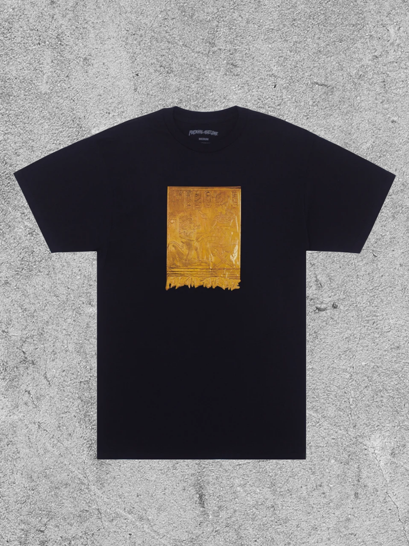 FA ENTERTAINMENT FUCKING AWESOME HIEROGLYPHIC TEE - BLACK