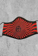 SPITFIRE SPITFIRE BIGHEAD SWIRL MASK - RED/BLACK