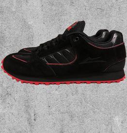 LAKAI FOOTWEAR LAKAI CARROLL X THRASHER - BLACK/RED