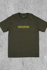 GX1000 GX1000 DITHERED LOGO TEE - GREEN