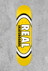 """REAL SKATEBOARDS REAL CLASSIC OVAL 8.06"""" DECK"""