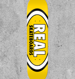 "REAL SKATEBOARDS REAL CLASSIC OVAL 8.06"" DECK"