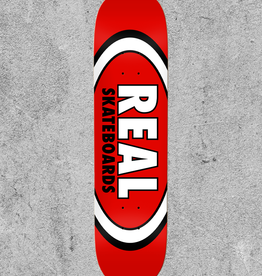 "REAL SKATEBOARDS REAL CLASSIC OVAL 8.12"" DECK"
