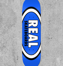 "REAL SKATEBOARDS REAL CLASSIC OVAL 8.5"" DECK"