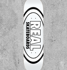"REAL SKATEBOARDS REAL CLASSIC OVAL 8.38"" DECK"