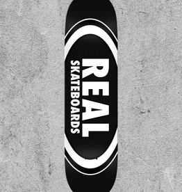 "REAL SKATEBOARDS REAL CLASSIC OVAL 8.25"" DECK"