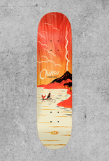 "REAL SKATEBOARDS REAL CHIMA HOT SPOT 8.06"" DECK"
