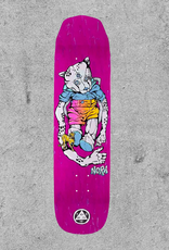 "WELCOME SKATEBOARDS WELCOME NORA TEDDY WICKED PRINCESS 8.1"" DECK"
