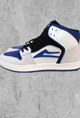LAKAI FOOTWEAR LAKAI TELFORD - WHITE/BLUEBERRY