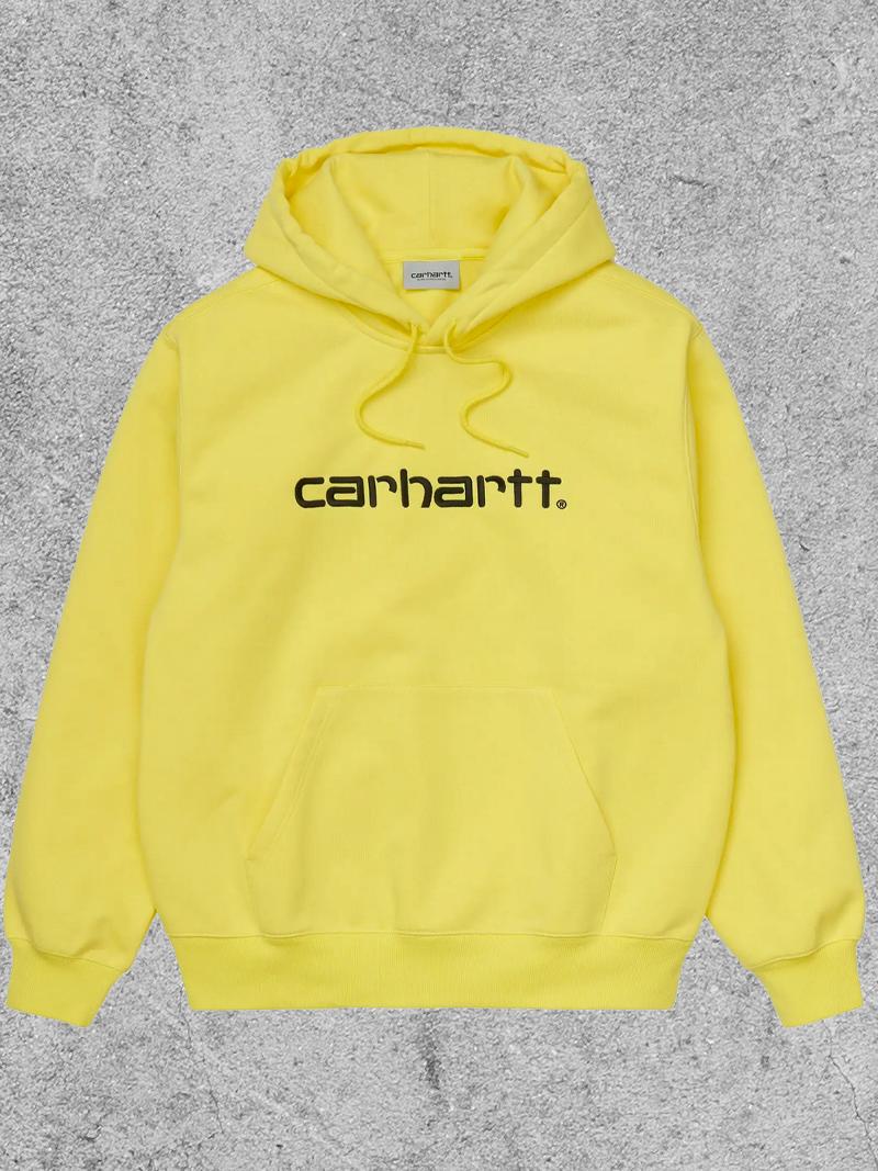 CARHARTT WIP CARHARTT WIP HOODED CARHARTT - LIMONCELLO