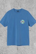 STUSSY STUSSY CLASSIC DOT DYED TEE - BLUE