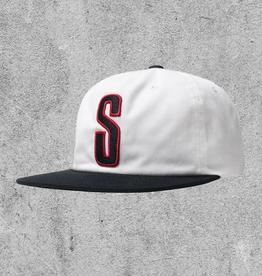 STUSSY STUSSY 2-TONE VINTAGE CAP - WHITE