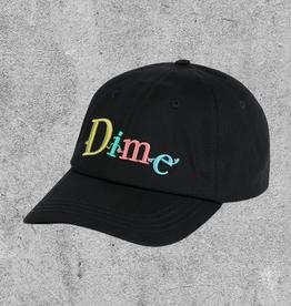 DIME DIME FRIENDS CAP BLACK