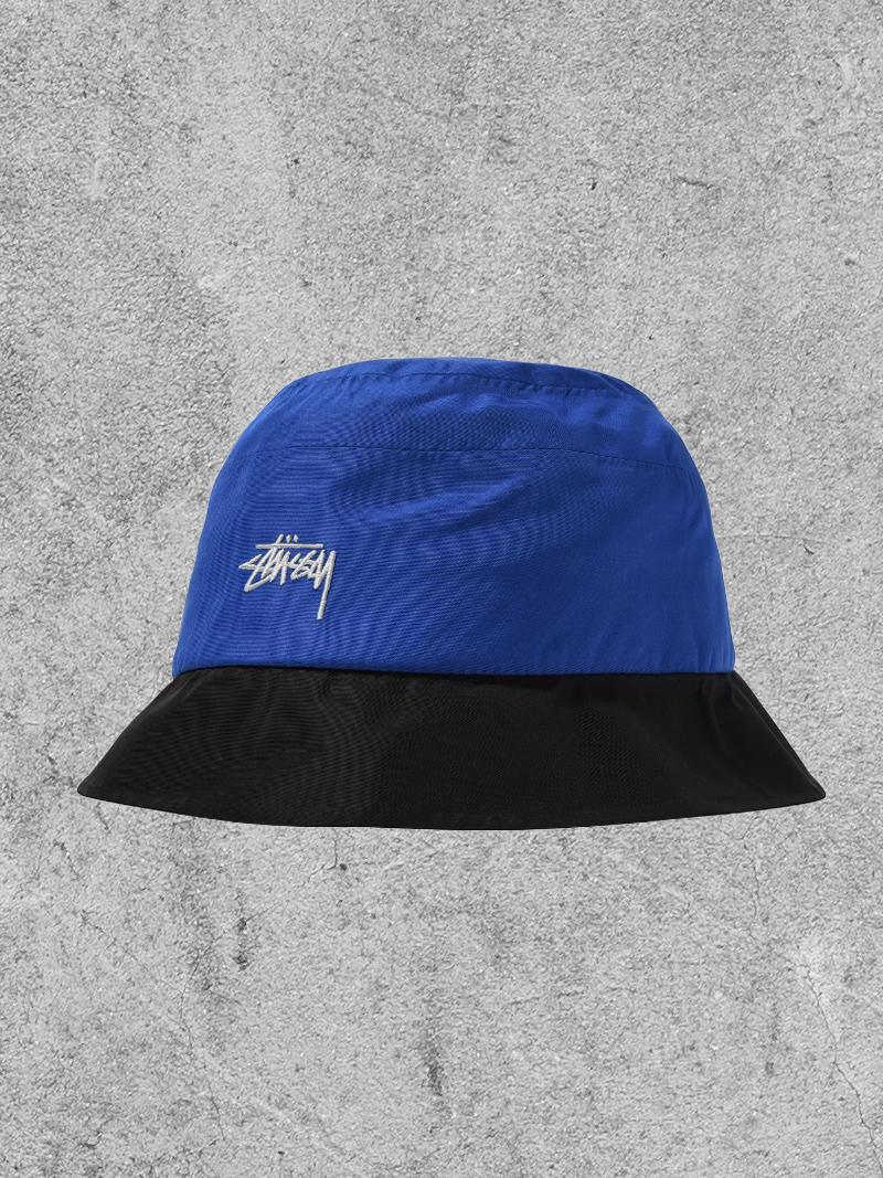 STUSSY STUSSY OUTDOOR BUCKET HAT - BLUE